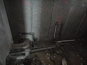 陶粒牆浴室配管